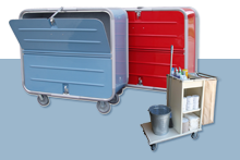 EVS Collection & Janitorial Carts